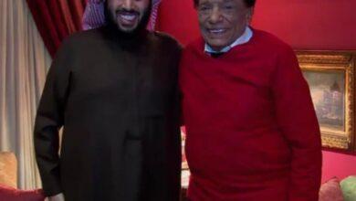"""صورة """"تركي آل الشيخ"""" يشيد بالنجاح الكبير لمسرحية """"بودي جارد"""""""
