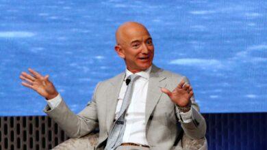 """صورة """"جيف بيزوس"""" يغادر شركة """"أمازون"""""""