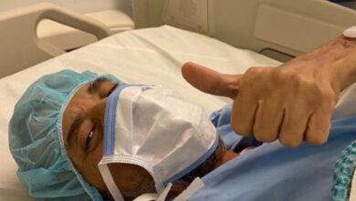 """صورة """"خالد سامي"""" يتصدر الترند بعد تحسن حالته الصحية"""