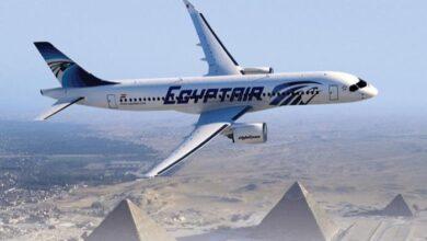 صورة مصر للطيران تعلق على قرار السعودية بتعليق الدخول للمملكة