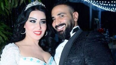 """صورة المحكمة تُلزم """"أحمد سعد"""" بدفع نصف مليون جنيه مؤخر لـ """"سمية الخشاب"""""""