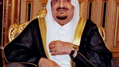 """صورة فيديو نادر للملك """"فهد بن عبد العزيز"""" وهو يمارس السباحة"""