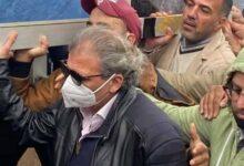 """صورة """"خالد يوسف"""" يعود لمصر لأول مرة بعد أزمته الشهيرة لحضور عزاء شقيقه"""