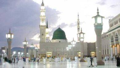 """صورة """"السعودية"""" تقرر السماح بإقامة صلاة التراويح في """"المسجد النبوي"""""""
