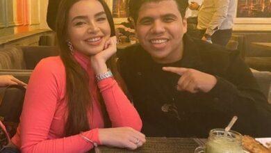 """صورة فيديو.. تعليق مثير من مطرب المهرجانات """"عمر كمال"""" حول زواجه من الراقصة """"جوهرة"""""""