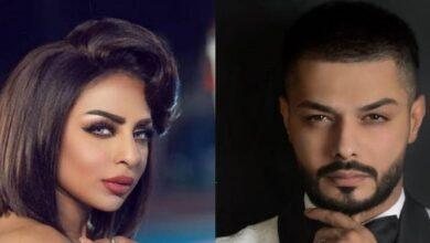 """صورة """"هند البلوشي"""" توجه رسالة نارية إلى الفنان العراقي """"يوسف علي"""" بعدما طلقها في بث مباشر"""
