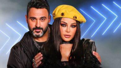 """صورة """"أكرم حسني"""" يُطلق دويتو غنائي جديد مع """"هيفاء وهبي"""" بعنوان """"لو كنت"""""""