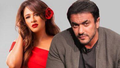 """صورة """"أحمد العوضي"""" يرد على حملات تشويه زوجته:"""