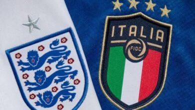 """صورة موعد مباراة إنجلترا وإيطاليا في نهائي """"يورو 2020"""""""
