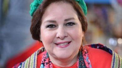 """صورة عائلة الفنانة """"دلال عبد العزيز"""" تنفي شائعات وفاتها"""