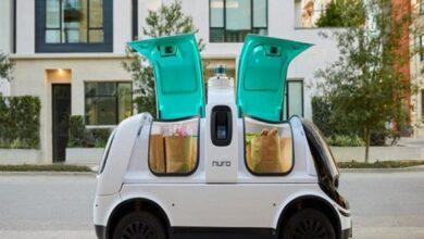 صورة فيديو.. روسيا تبتكر روبوتات ذاتية القيادة لتوصيل الطعام في أمريكا