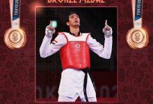 """صورة """"سيف عيسى"""" يُحرز الميدالية الثانية لمصر في أولمبياد طوكيو"""