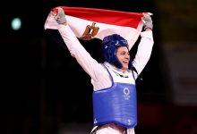 """صورة فيديو.. """"هداية ملاك"""" تحرز أول برونزية لمصر في أولمبياد طوكيو"""