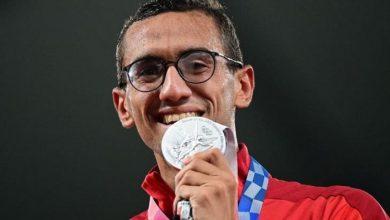 """صورة فيديو.. """"أحمد الجندي"""" يحرز أول ميدالية في تاريخ العرب في رياضة الخماسي الحديث بالأولمبياد"""