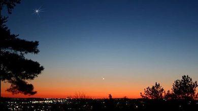 صورة سماء السعودية تشهد أقرب اقتران بين كوكبين غداً الأربعاء