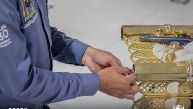 صورة صور.. صيانة 1500 دولاب للمصاحف بالمسجد الحرام