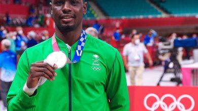 """صورة فيديو.. """"طارق الحامدي"""" يحصد أول ميدالية للسعودية في أولمبياد طوكيو"""