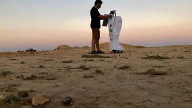 """صورة صور.. مهندس مصري يبتكر روبوت يحول الهواء لـ""""مياه شرب"""""""