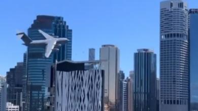 صورة فيديو.. حالة من الذعر بين سكان مدينة أسترالية بسبب طائرة عسكرية