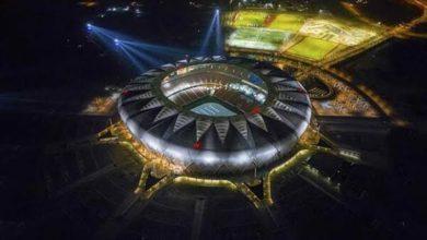 """صورة مدينة الملك عبدالله الرياضية تؤكد أن ملعب """"الجوهرة المشعة"""""""