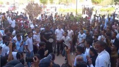 """صورة فيديو.. فضيحة طلاب جامعة الوادي يرقصون على أغاني """"محمد رمضان"""""""