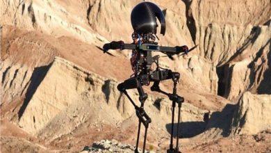 صورة فيديو.. ابتكار روبوت قادر على المشي والتحليق في الهواء