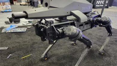 """صورة فيديو.. الكشف عن """"روبوت قاتل"""" مزود ببندقية قنص"""